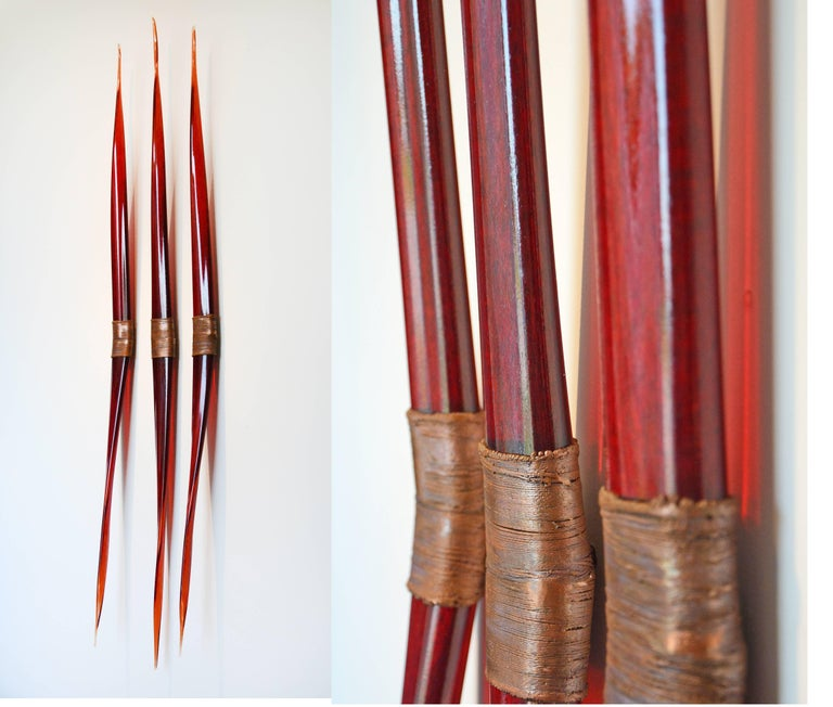 John Paul Robinson Abstract Sculpture - Flames