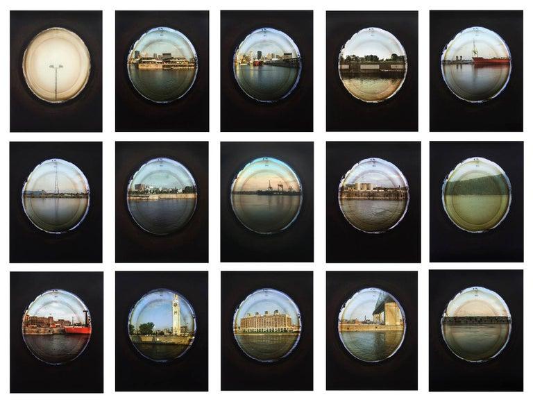 April Hickox Landscape Photograph - Vantage Point: Portholes , 2009 edition 7/7