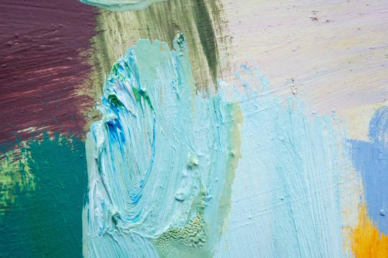 Kairoi No 25 - Gray Abstract Painting by Scott Pattinson