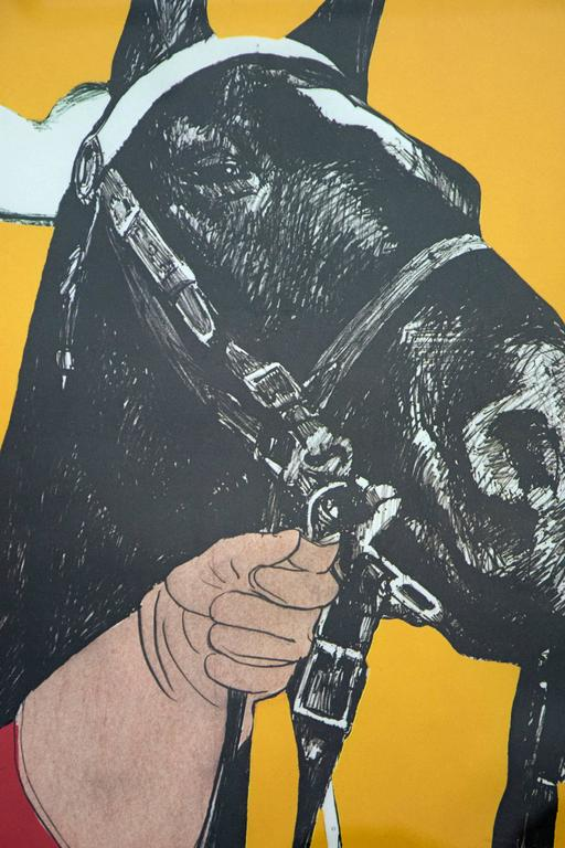 Noblesse Oblige 3/10 - pop-art, Canadiana, iconic, contemporary, giclee print For Sale 1