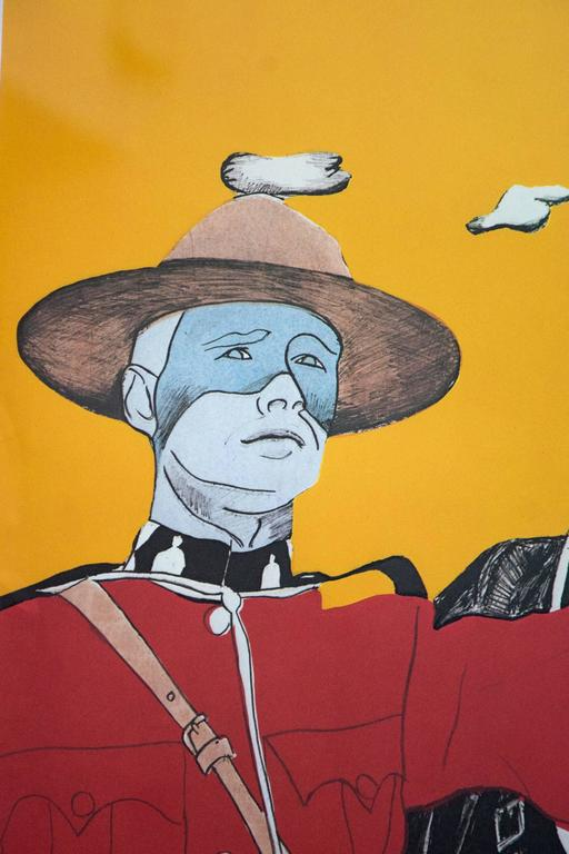 Noblesse Oblige 3/10 - pop-art, Canadiana, iconic, contemporary, giclee print For Sale 2