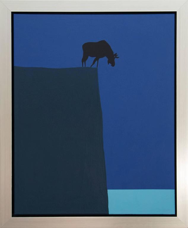 Brink  (Moose on a Cliff) For Sale 1