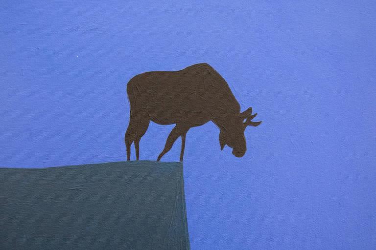 Brink  (Moose on a Cliff) For Sale 5
