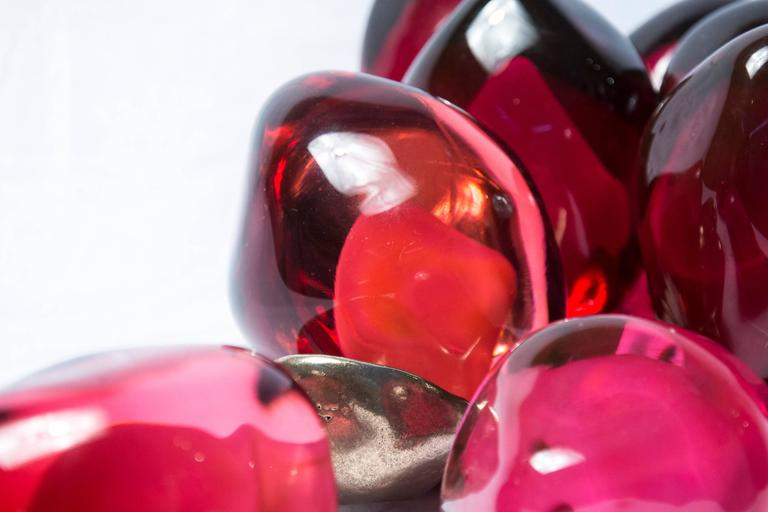 A Piece of a Pomegranate No 2 - Contemporary Sculpture by Catherine Vamvakas Lay
