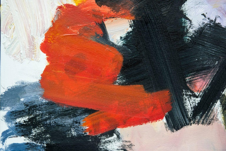 Kairoi No 17 - Red Abstract Painting by Scott Pattinson