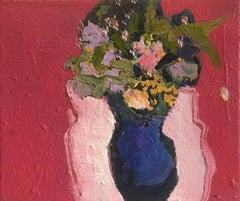 Violet Vase with Rose Madder