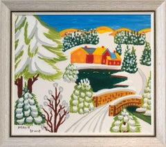 Snow-laden Landscape