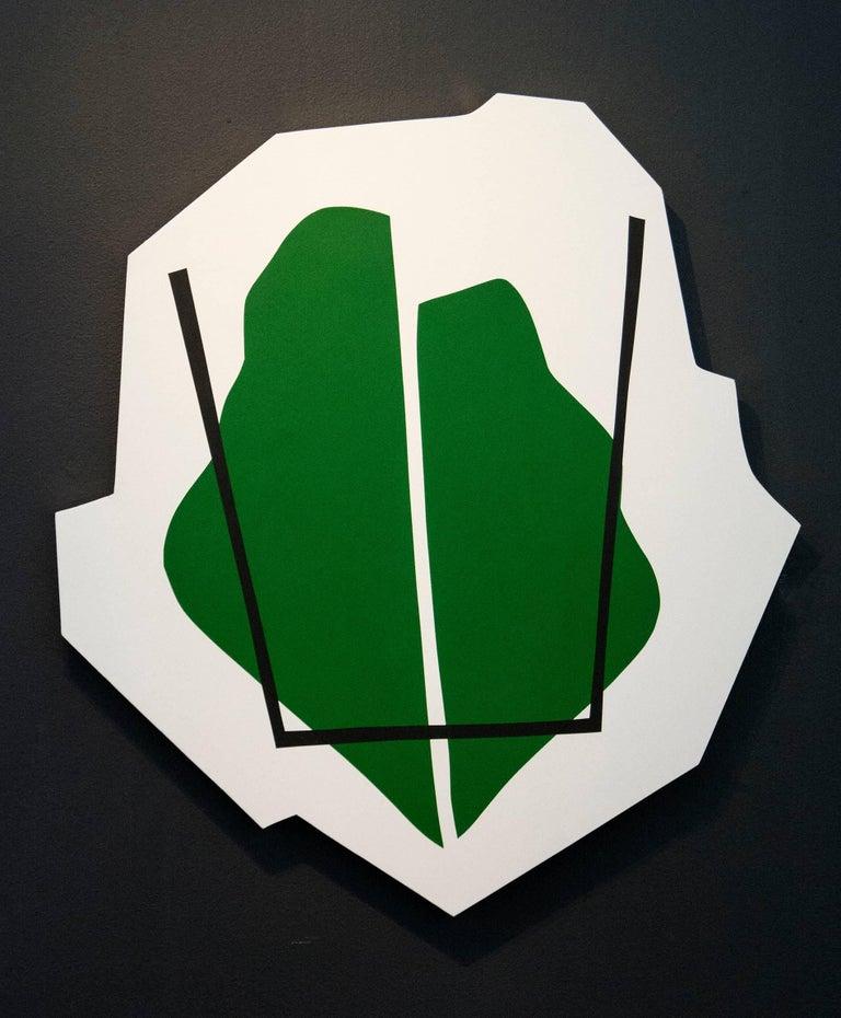Split Green Shape