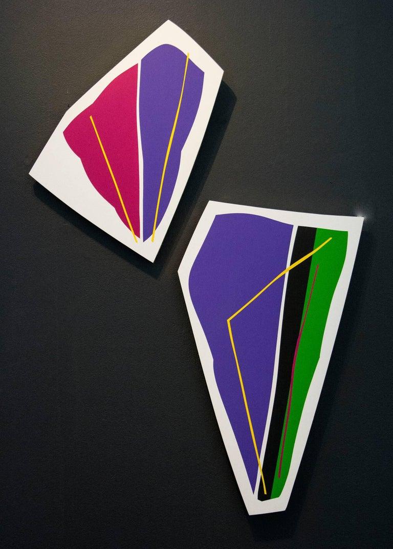 Purple and Magenta 1 & 2