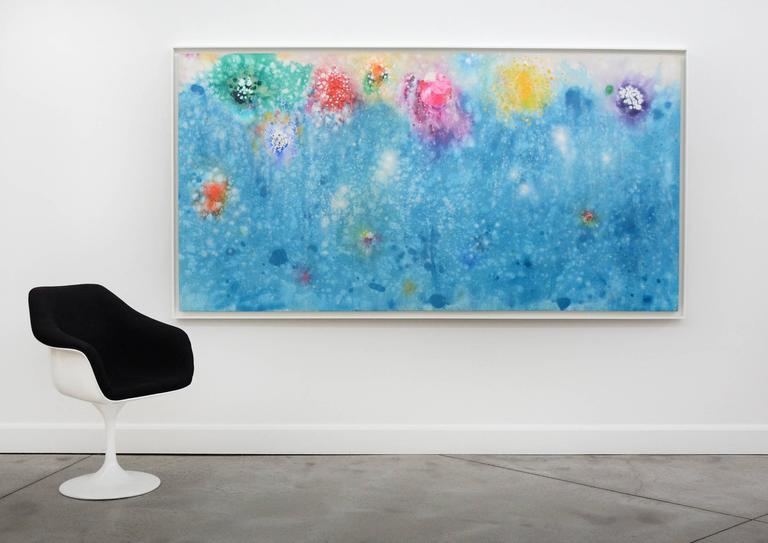 Wonders in Azure - Painting by Paul Fournier