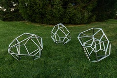 Fracture Zone Series No 2 - Outdoor Steel Garden Sculpture
