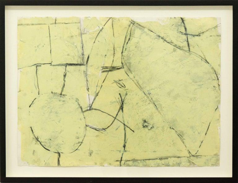 John Richard Fox Abstract Painting - Untitled No 8305