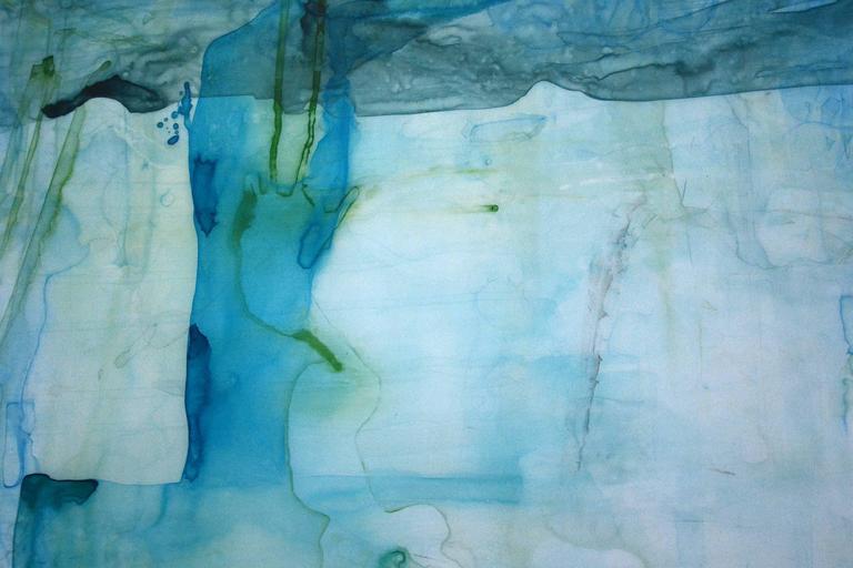 Iceberg Art Paintings Minimalism Abstract