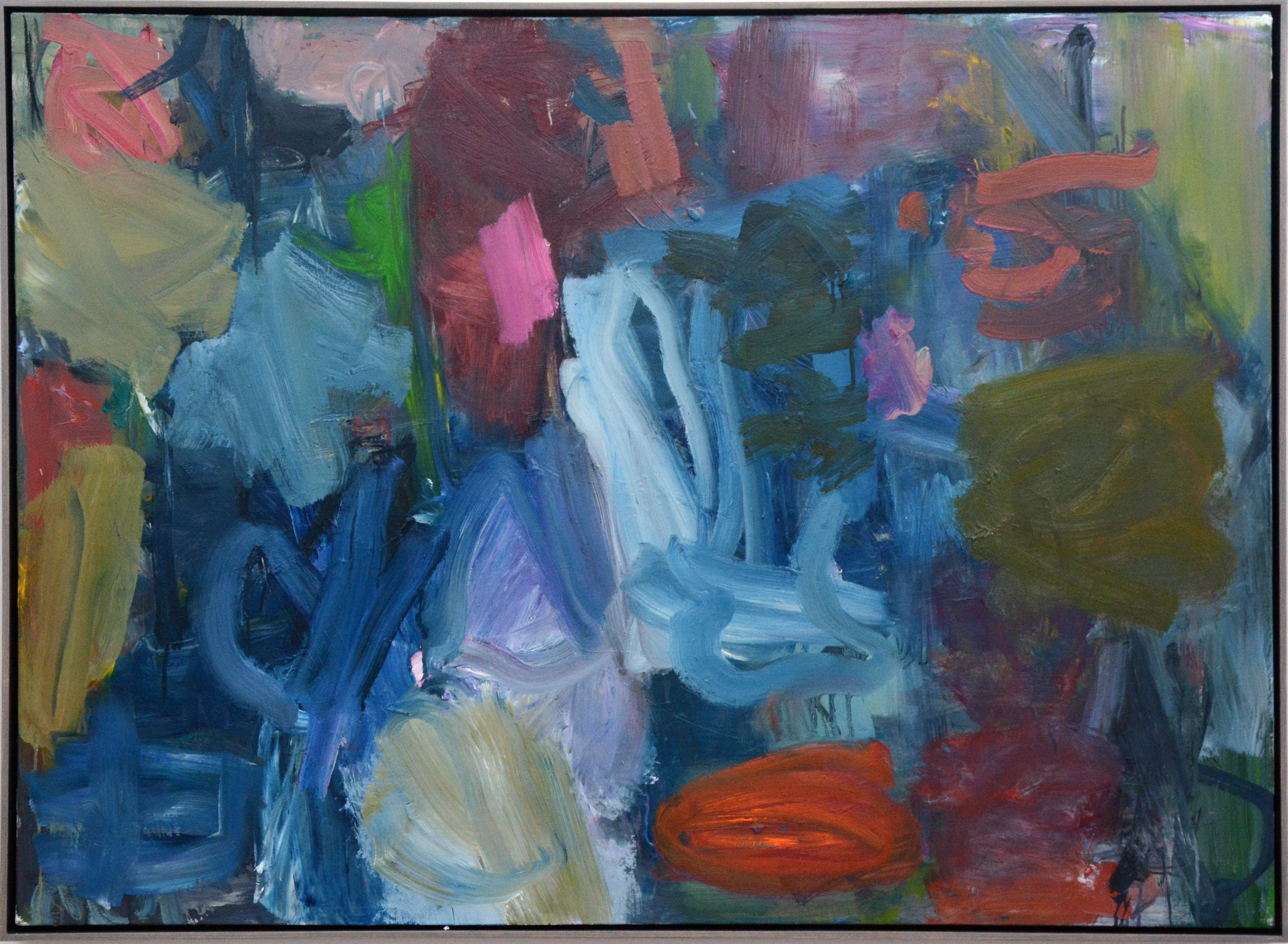 Clyde House No 87 - large, bold, colourful, gestural, abstract, oil on canvas