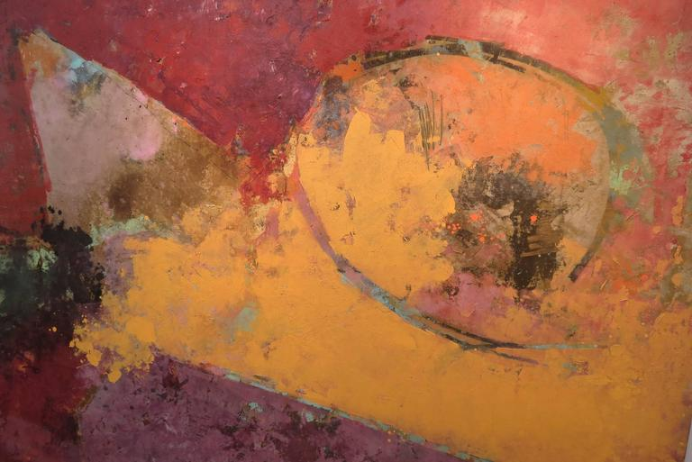 Untitled No 7901 - Abstract Expressionist Painting by John Richard Fox
