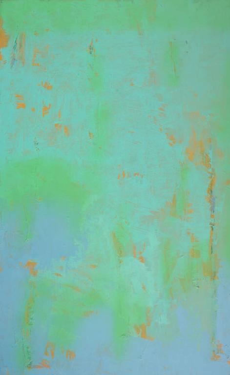 John Richard Fox Abstract Painting - Untitled No 7408