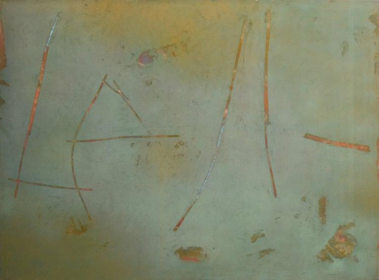 John Richard Fox Abstract Painting - Untitled No 7804
