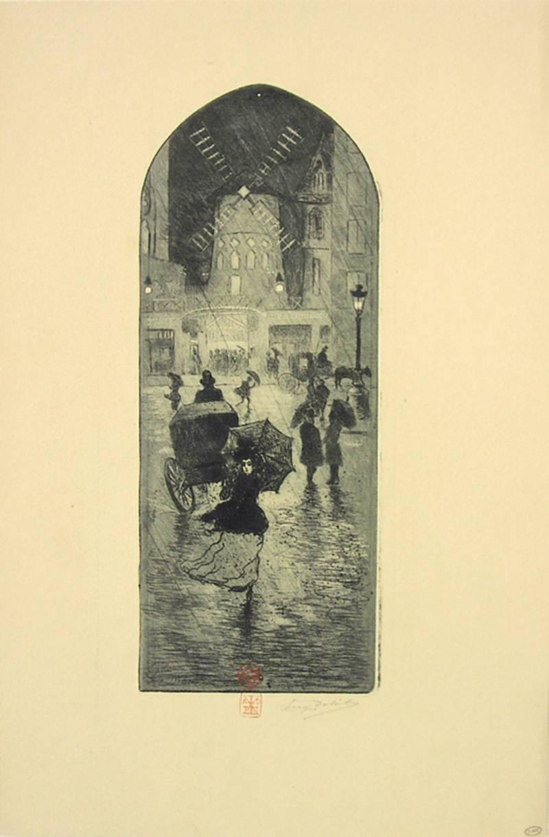 A Monmartre (Moulin Rouge).