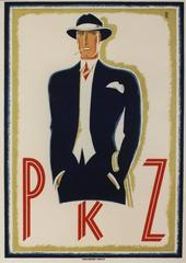 PKZ [Man in Blue Suit].