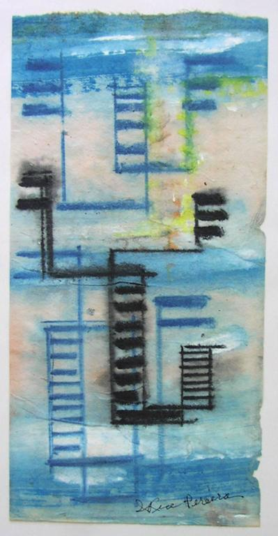 Irene Rice Pereira Abstract Drawing - Abstraction