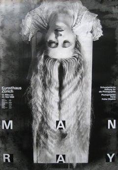 Man Ray Exhibition/Kunsthaus. Zurich. 1988. Offset.