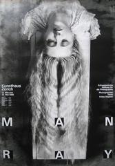 Man Ray Exhibition/Kunsthaus. Zurich. 1988. Offset.