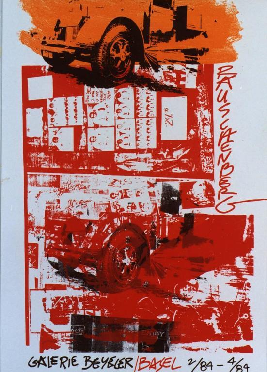 Exhibion Poster Galerie Beyeler, Basel 2/84-4/84