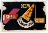 NEW / SHELL LUBRICATING OILS.