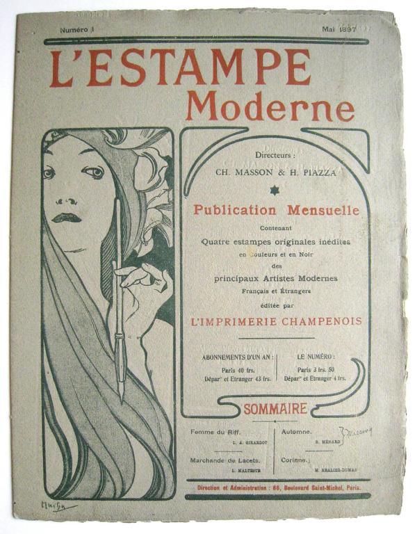 L'Estame Moderne. Issue no. 7 November 1897.
