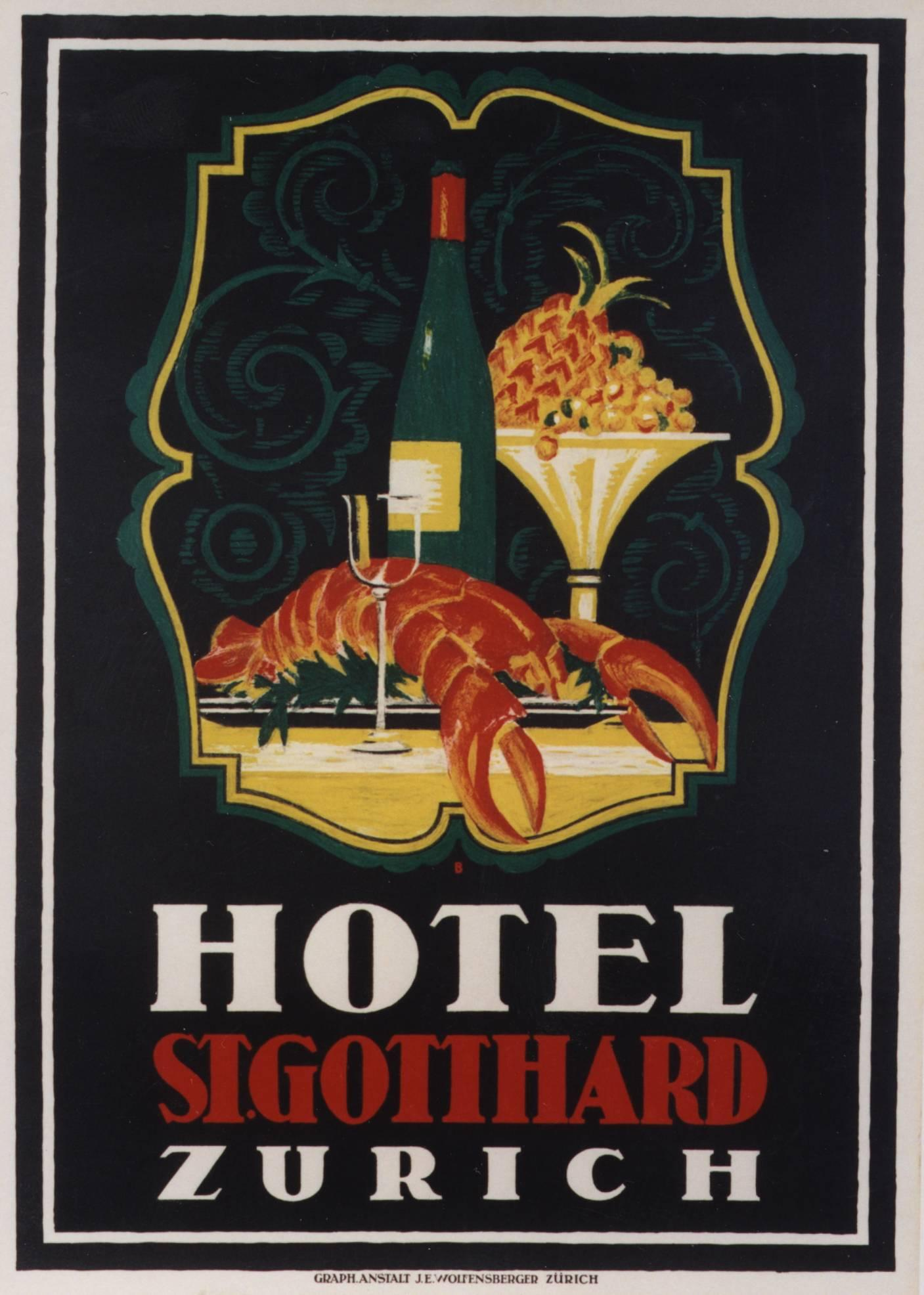 Hotel St. Gothard Zurich.