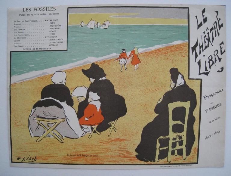 Theatre Program for Les Fossiles