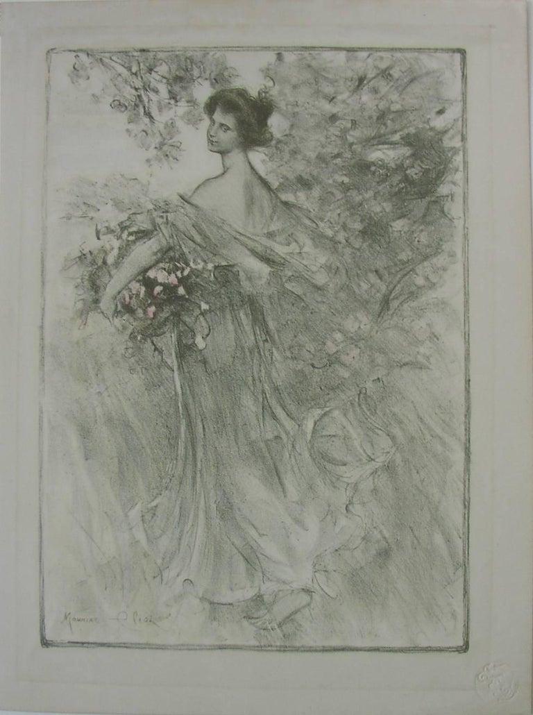 Maurice Eliot Figurative Print - Printemps (The Spring)