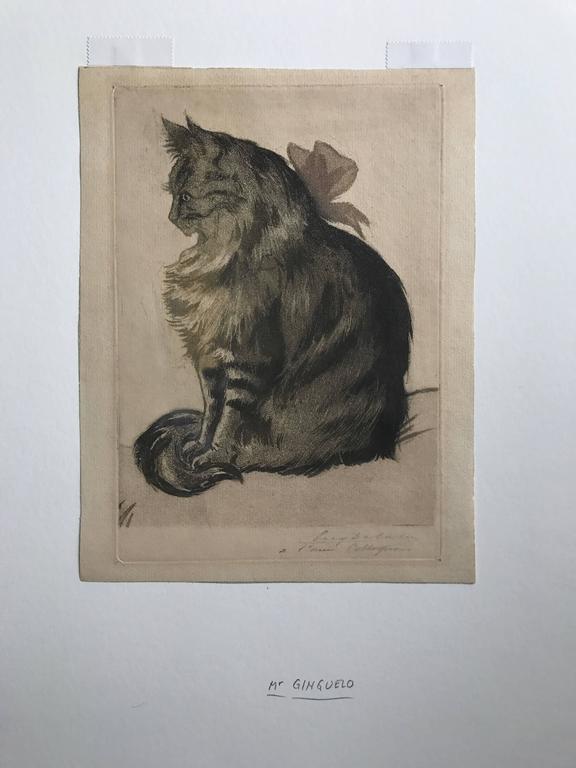 Eugène Delâtre Animal Print -  Mr. Ginguelino