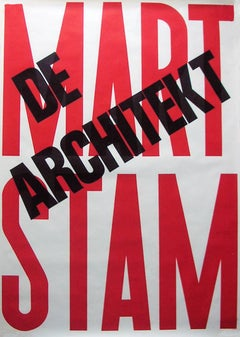 Mart Stam, De Architekt.