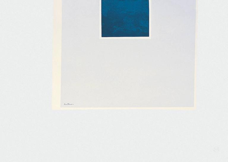 London Series II: Untitled (Blue/Pale Blue)