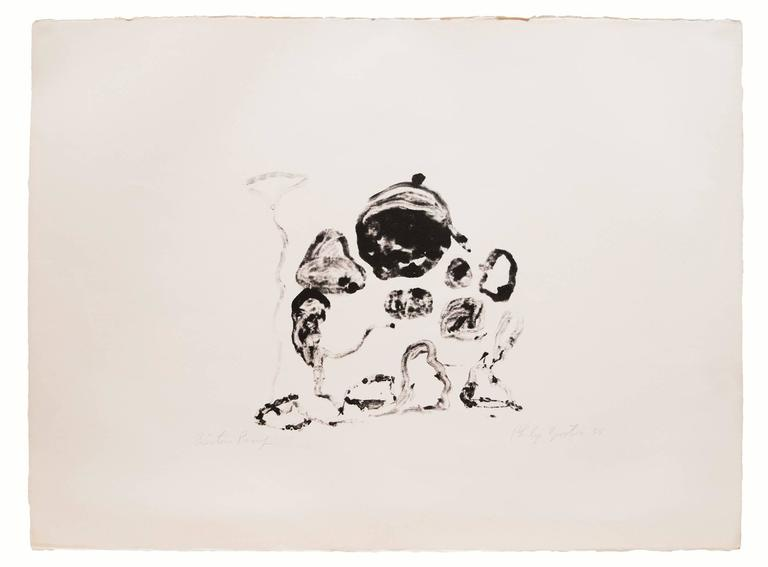 Philip Guston Abstract Print - Untitled