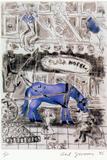 New York Sweet: Piebald Blue