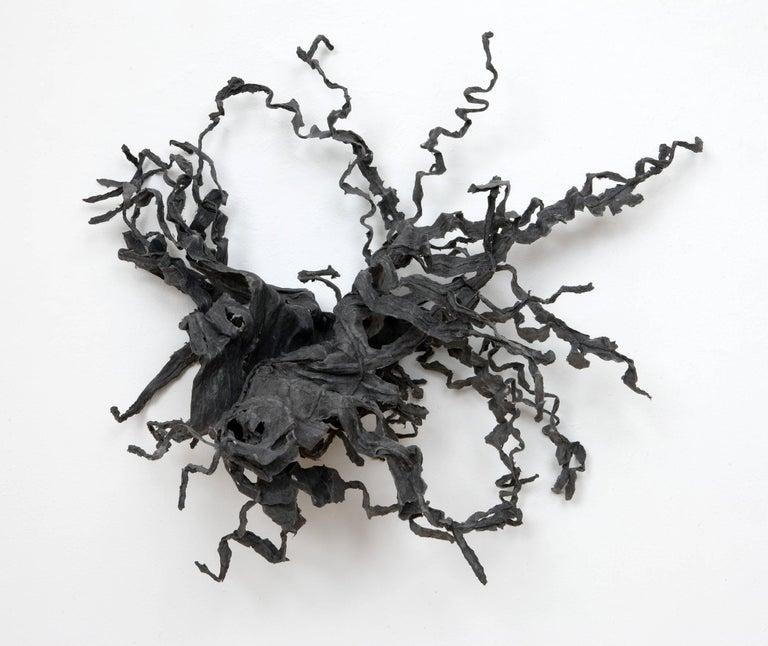 Chakaia Booker Abstract Print - Impeding Encounter