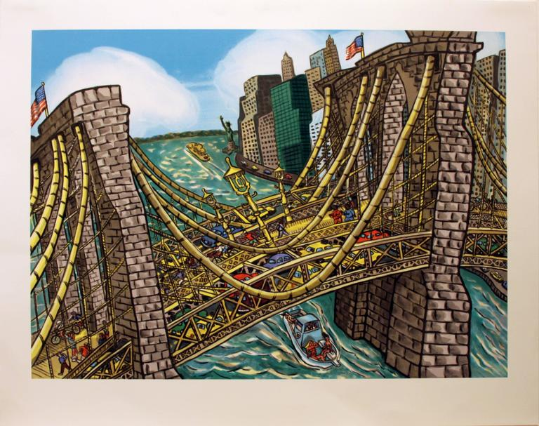 Brooklyn Bridge Bustle
