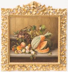 GIOVANNI ESTIENNE - Still Life of Fruit on a Shelf