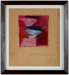 Abstract Expressionist Pastel Study