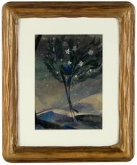"""Flowering Tree"" Watercolor, 1927"