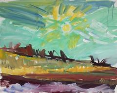 """New Mexico"" Abstracted Landscape"