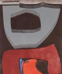 """Istanbul 87 #12"" Monoprint on Paper, 2015"