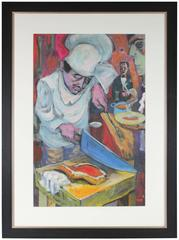 """Poor Little Cook"" Expressionist Kitchen"