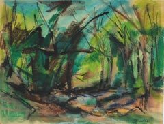 Abstracted Forest Landscape
