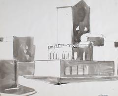 Industrial San Francisco Scene in Ink, 1976