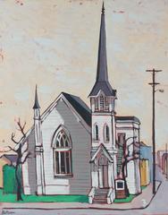 """Berkeley"" 1964 Oil on Canvas"
