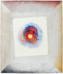 Vivid Sun Mixed Media Painting