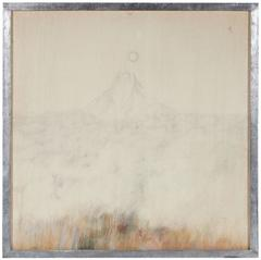 Mountain & Moon in Graphite, 1976